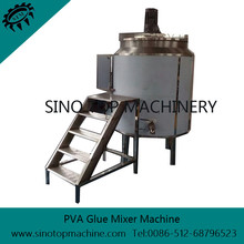 Easy to Operate PVA Glue Mixed Machine for paper honeycomb board laminating