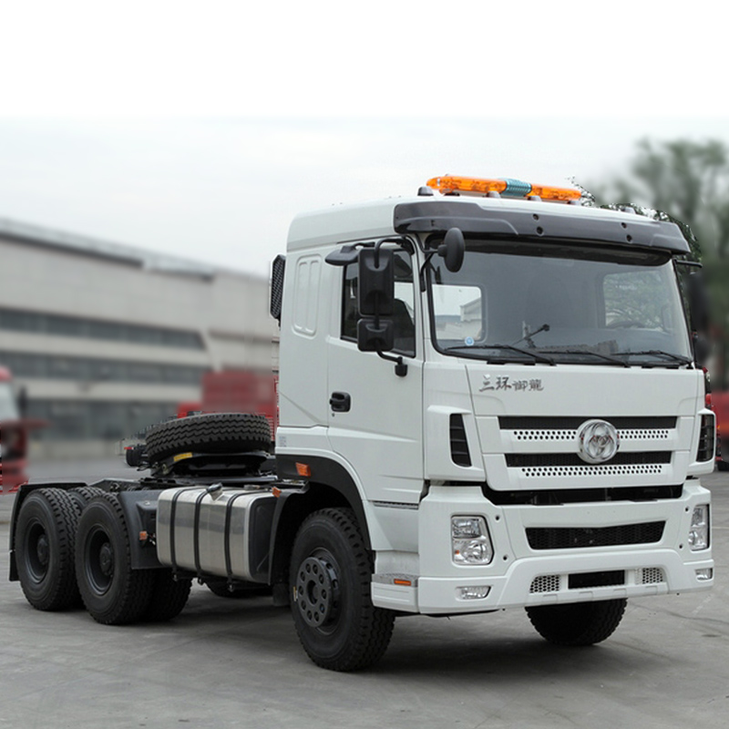 6*4 60 Ton Towing Mass Trailer Head Price/60T Heavy Duty Tractor Truck Head For Sale