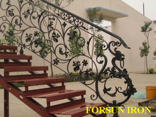 2014cast iron balcony railings for terrace designs