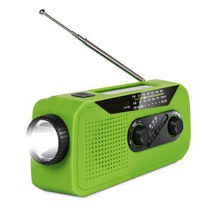 Amazon best seller solar hand crank noaa weather emergency radio with power bank
