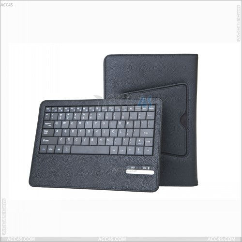 Leather case with detachable bluetooth Keyboard for Tablet PC Nook HD 9 P-NOOKHD9BTHKB001