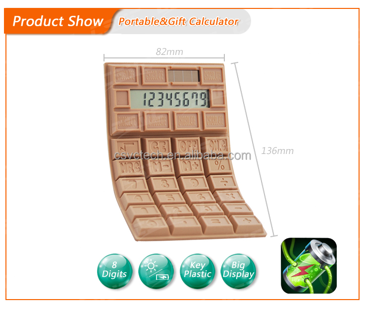 China promotional silicone calculator