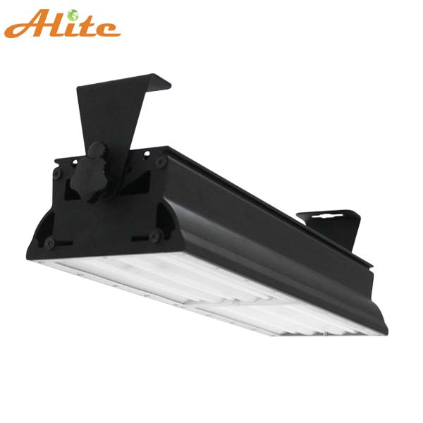 High quality dimmable motion sensor 140lm/w 60w UL DLC linear led high bay light, DLC ETL linear led high bay