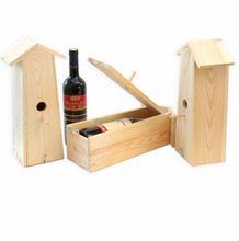 Rectangular wine carrier for two