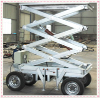 10m good price hot sale hydraulic electric scissor lifts