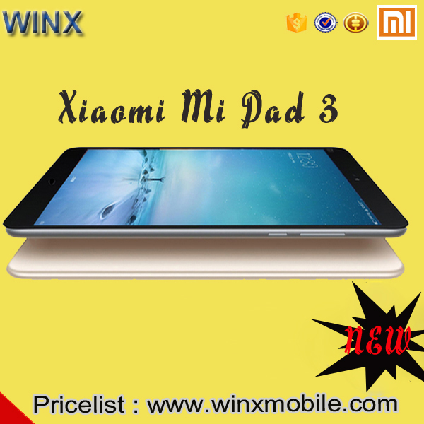 latest technology Original Mi pad 3 Xiaomi 3 all in one pc 128gb ROM 3gb RAM Silver Black the tablet