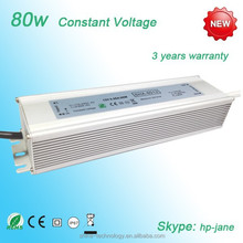 80W LED Driver Waterproof IP67 Power Supply High Power Adapter + 80W LED Chip Bulb Energy Saving For DIY Daylight