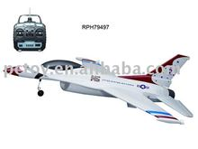 TS828 remote control plane electric rc F16 flying modle