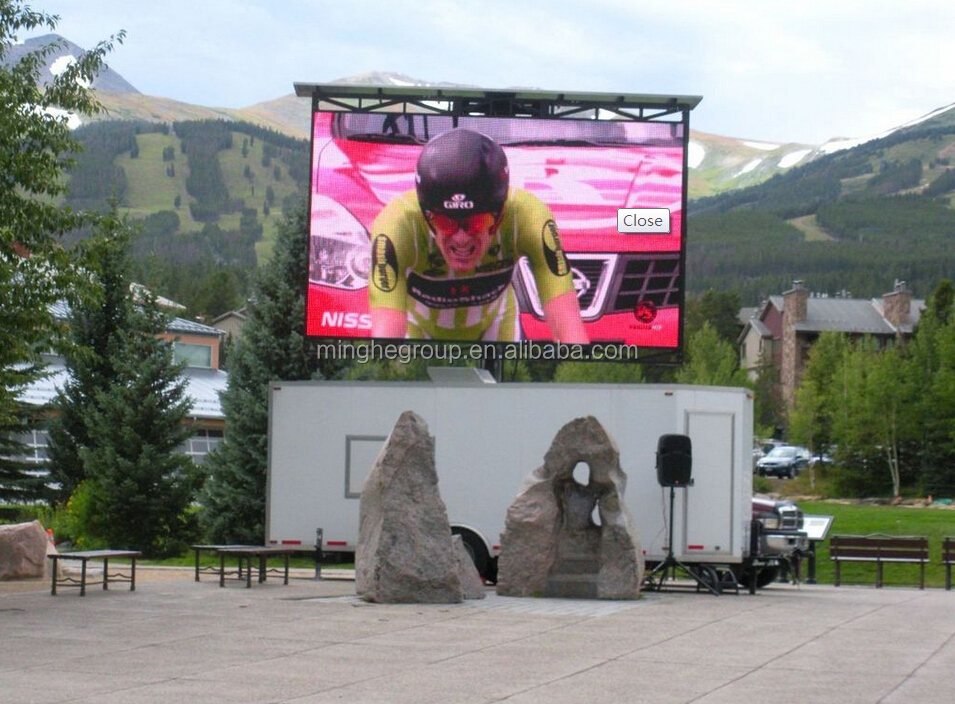 high quality china P16 led display screen hot sale outdoor video photos