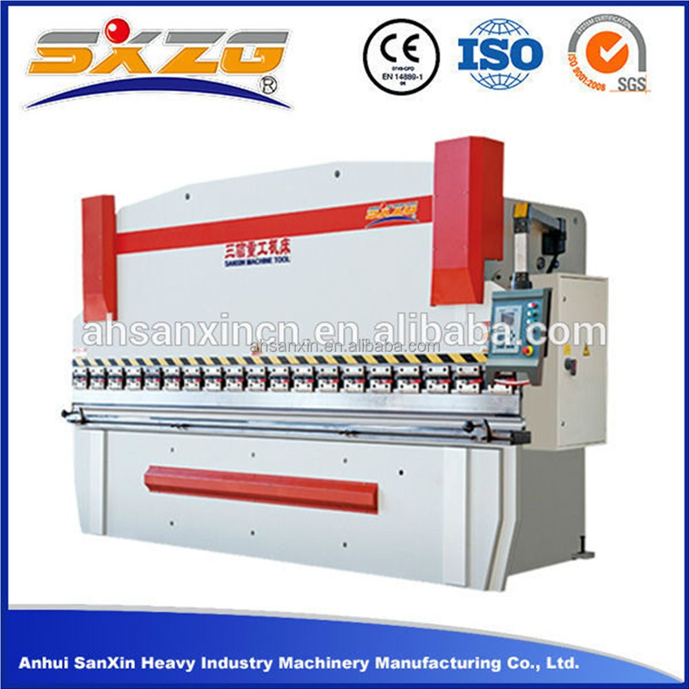 2016 auto used steel plate bending machine and hydraulic cnc bending machine price for metal sheet