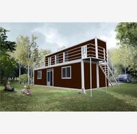 Caribbean Style Prefabricated Casette Club House Plans club house plans