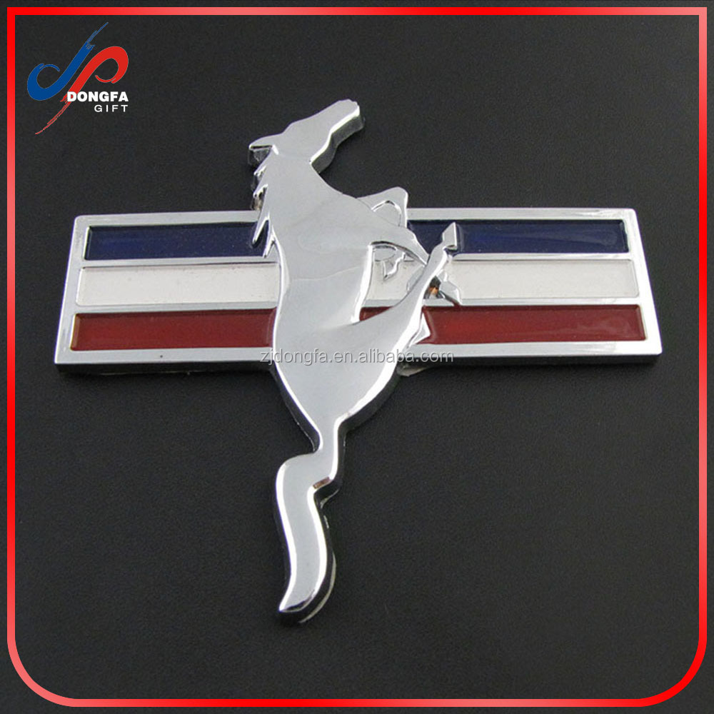China factory supply custom metal car badge emblem 2016