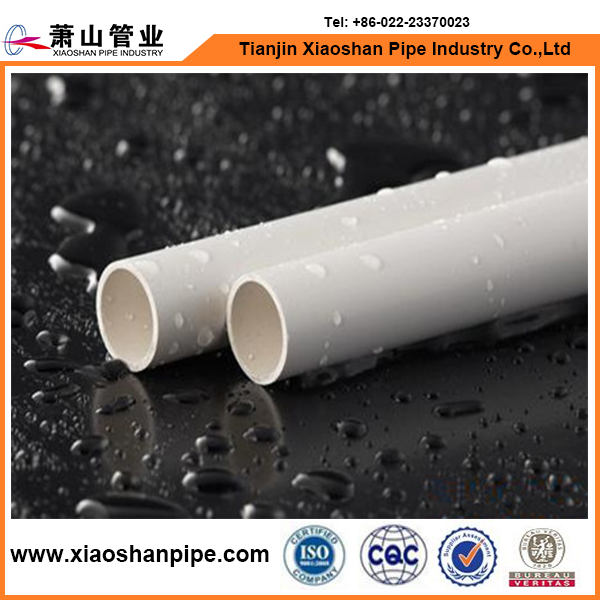 China supplier high strength 5 inch diameter heavy wall PVC pipe with American standard