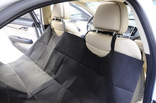 Car interior accessories designed for pet polyester oxford waterproof car seat cover with cheap price