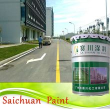 Solvent based road marking paint/cold plastic road marking paint