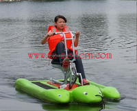 water play equipment water pedal bike for sale