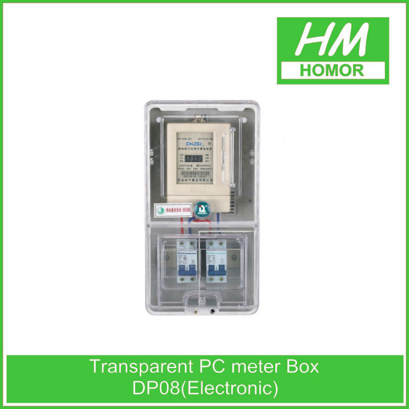 Electric outdoor waterproof three phase electric meter box