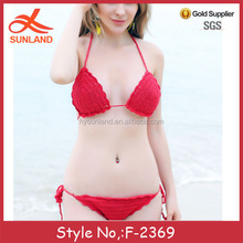 F-2369 new wholesale sexy mature little girls in small bikinis for 2017 summer