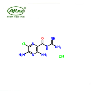 Amiloride hydrochloride Powder CAS 2016-88-8,active pharmaceutical ingredient