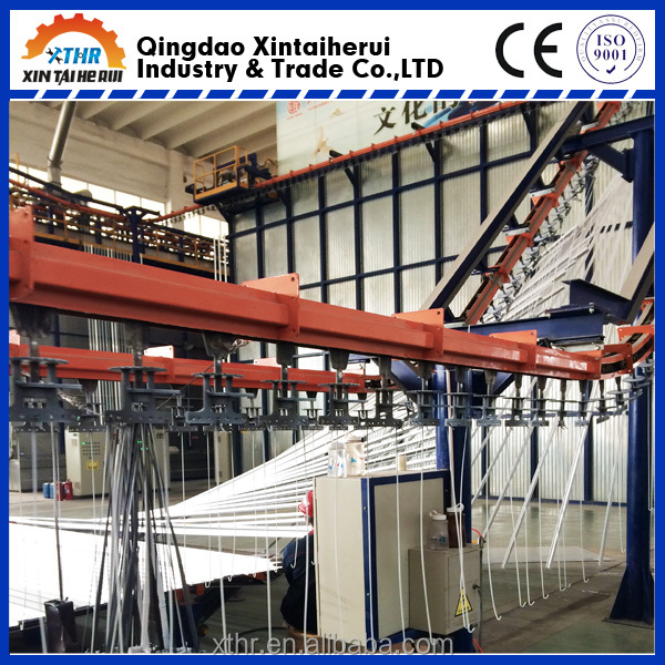 Environment-friendly electrostatic powder coating solution/machine/equipment/line