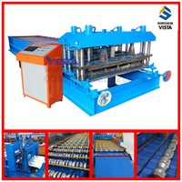 highend glazed roof tile making machine prices, moulding sheet glazed tile roll forming machine
