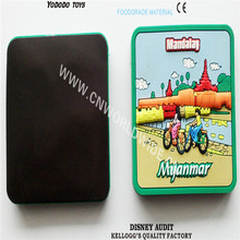 High-quality soft pvc 3D tourist souvenir fridge magnet