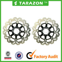 CNC aluminum 276mm street bike floating brake disc for motorcycle