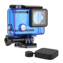 QIUNIU Wholesale Accessory Waterproof Housing Shell Case For GoPro Hero 4 Sport Camera Accessories