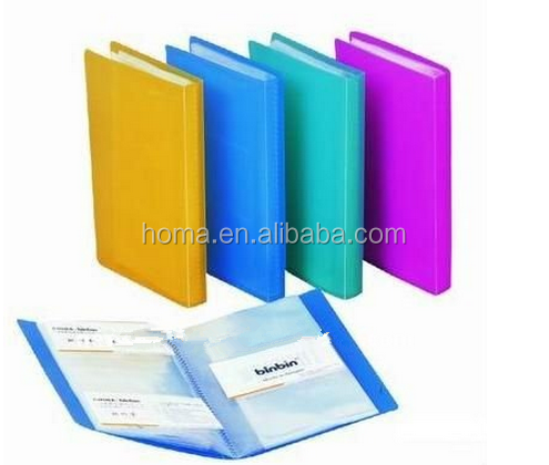 Cheap custom office A4 display book with file pocket for wholesale for sale