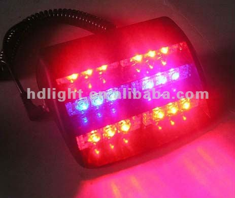 18 LED Emergency Strobe Flash Lights Deck Dash Grille