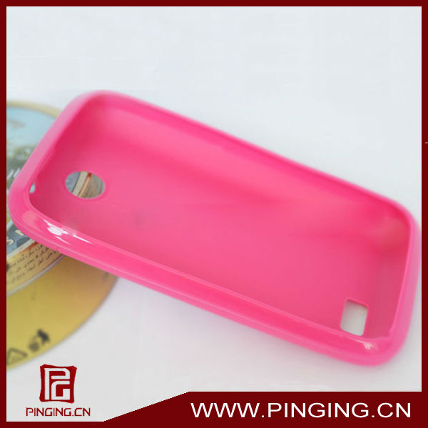 Jelly tpu back cover case for lenovo a208t