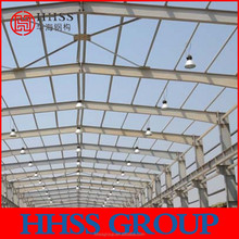 prefabricated mobile light steel structure warehouse for food