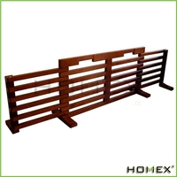 Expandable Wooden Pet Dog Gate/Homex_BSCI