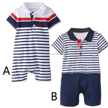 3-24 months baby romper clothes short sleeve organic cotton baby jumpsuit