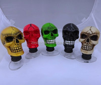 Auto Car Universal Personality individuality MT Gear Shift Shifter Lever Knob Wicked Carved Skull Knob