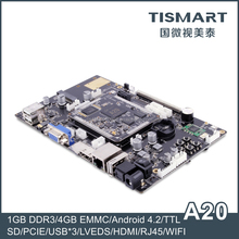 TISMART Dual Core ARM Development Board With Open Source Code and SDK