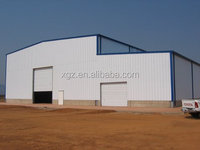 Flexible design Prefabricated Steel Structure Automobile Maintance Workshop