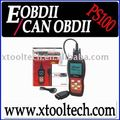 OBD 2 Live Data PS100 EOBD2 Code Scanner Read Clear DTC Check Engine Light