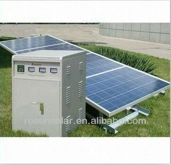 high efficiency 3000w / 3 kw solar energy system manufacturer in china