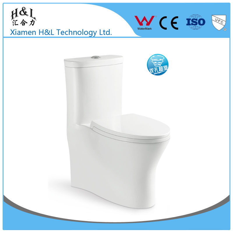 Sanitary ware ceramic one piece toilet floor mounted wc toilet