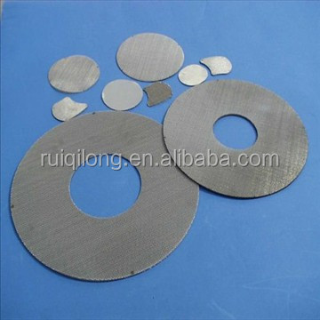 china factory mild steel Stainless steel Plastic rubber tire particles filter disc