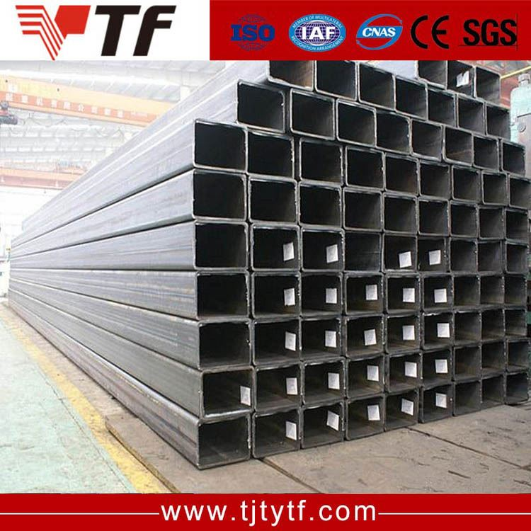 New 2016 Q195-Q235 pre galvanized ms steel 3 square tubing strength