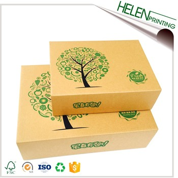 Color cardboard boot box packaging