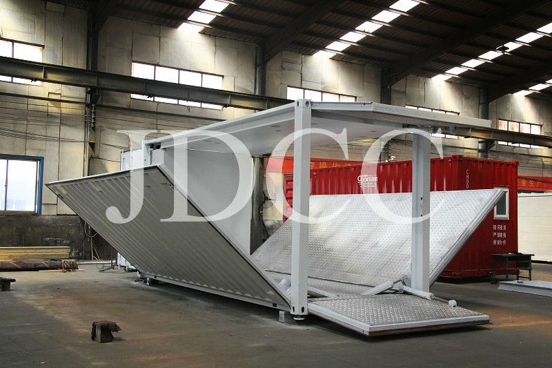 JDCC- corrugated panel 40 ft container house