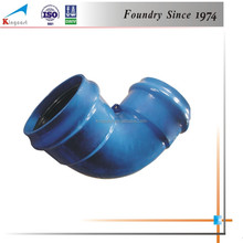 Custom product industry cast iron groove fittings