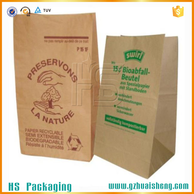packaging paper bags for bread /sandwich/cookies packaging