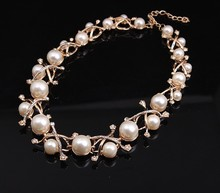 women fashion accessories gold jewelry pearl necklace designs