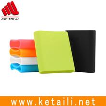 Made in China wholesale price colorful fashionable soft protective silicone rubber power bank case cover sleeve factory