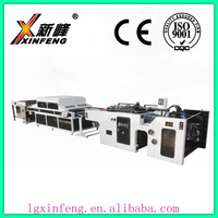 pet films flat cylindrical automatic silk screen printing machine