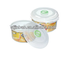 Promotional 650ml Small Microwavable plastic storage box with lid